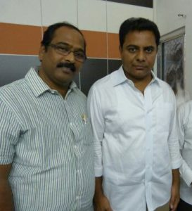 CEO with KTR